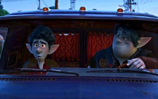 Äventyret tar fart i ny trailer till Pixars Framåt