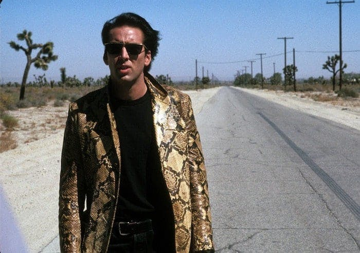 "Nicolas Cage i David Lynchs ""Wild at Heart""."