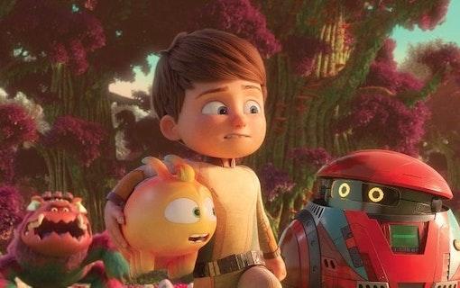 Barnfilmen Willy & Monsterplaneten