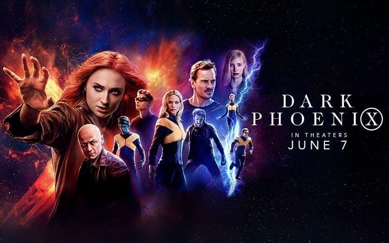 Affisch till X-Men: Dark Phoenix