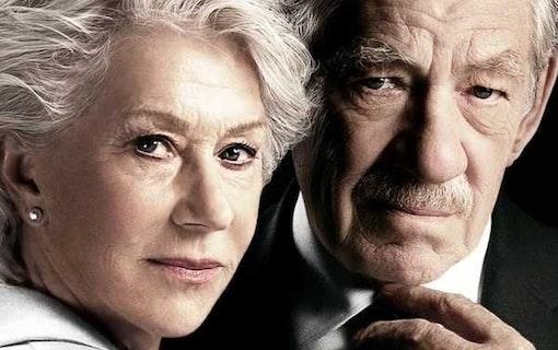 Ian McKellen skrämmer Helen MIrren i film om online dejting