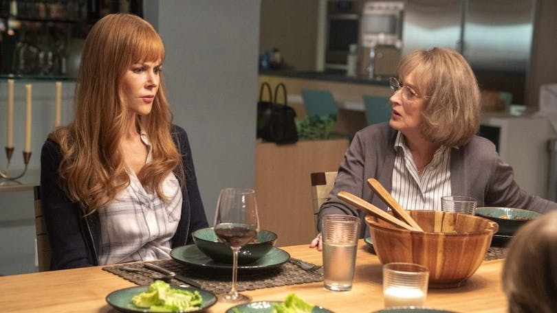 "Nicole Kidman och Meryl Streep i ""Big Little Lies"""
