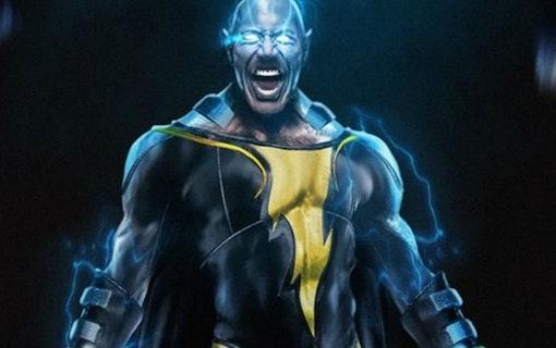 Dwayne Johnson spelar superhjälten Black Adam