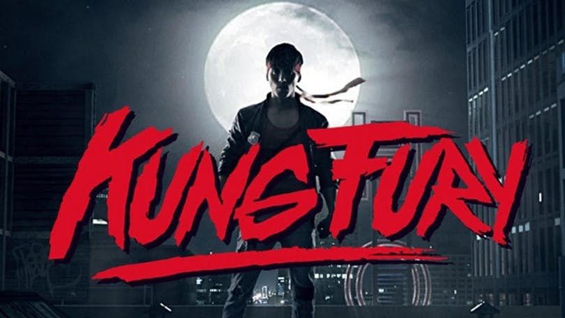 Poster till Kung Fury.