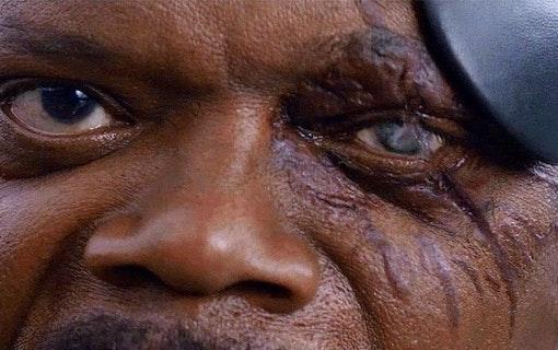 Samuel L. Jackson arg på poster till nya Spider-Man