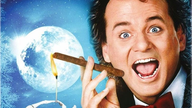 Bill Murray i Scrooged.