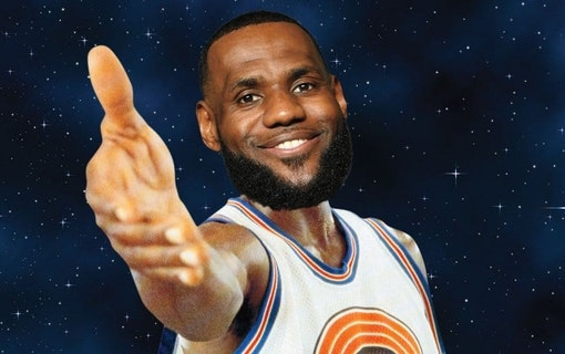 Space Jam 2 spelas in – med LeBron James