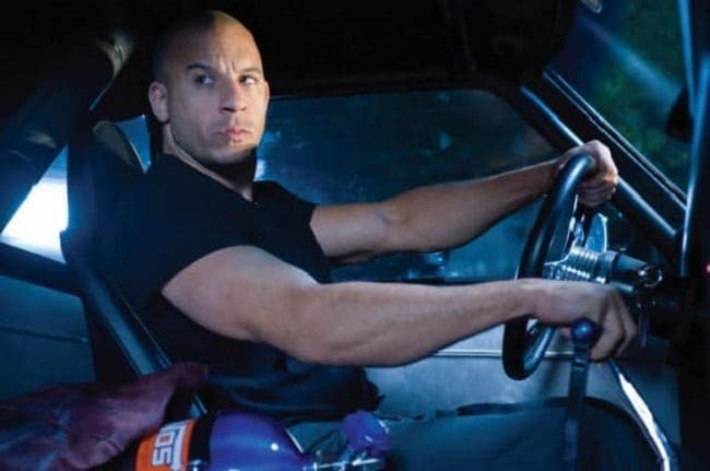 Vin Diesel i Fast and Furious från 2009.