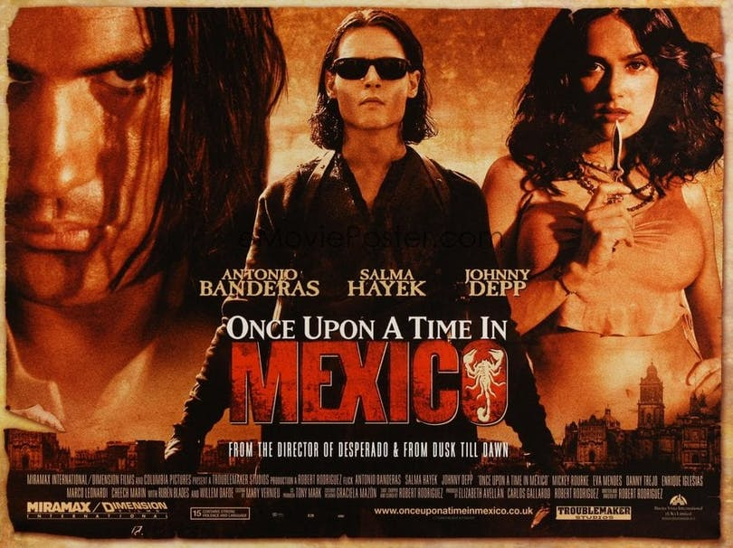 Poster till Once upon a time in mexico