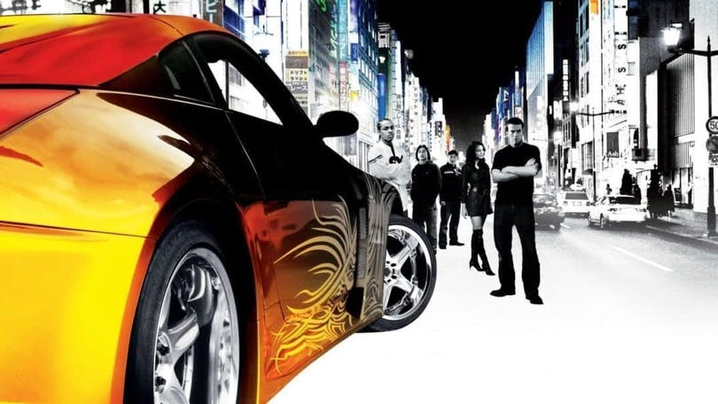 Affisch till The Fast and the Furious: Tokyo Drift.