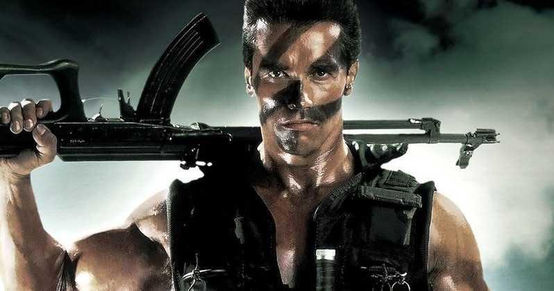 Arnold Schwarzenegger i Commando