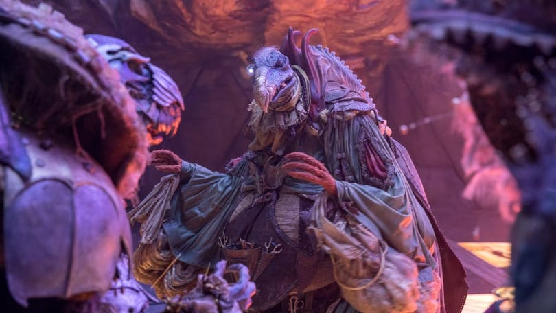 "Prequelserien ""The Dark Crystal: Age of Resistance""."