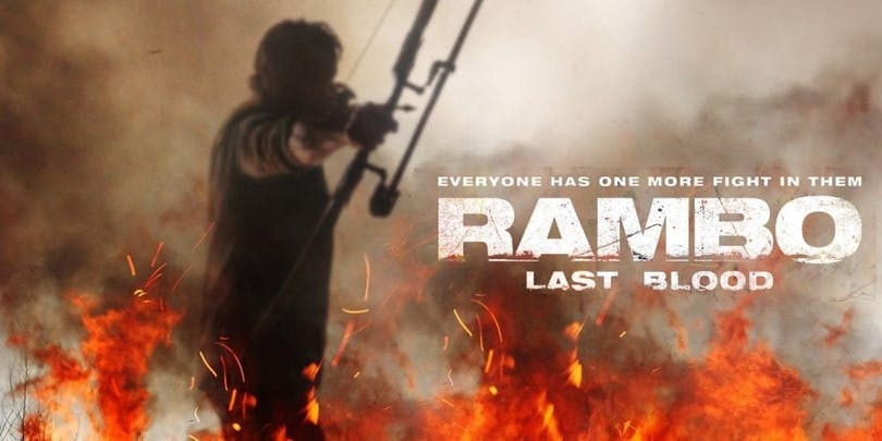 Poster till Rambo
