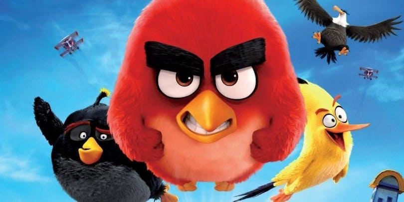 Fågelhjältar flyger fram i The ANgry Birds Movie 2.