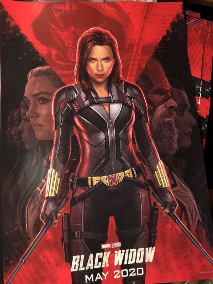 Poster till Black Widow.