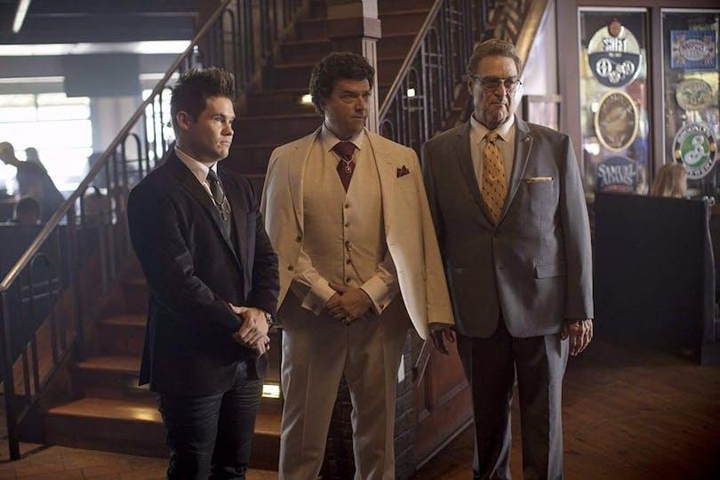 Adam Devine, Danny McBride och John Goodman.