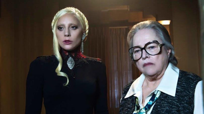 Lady Gaga och Kathy Bates i AHS.