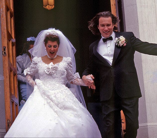 Bröllop i Mitt stora feta grekiska bröllop. En film som spelades in i Kanada.