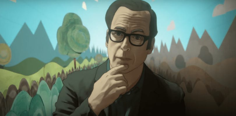 "Bob Odenkirk i ""Undone""."