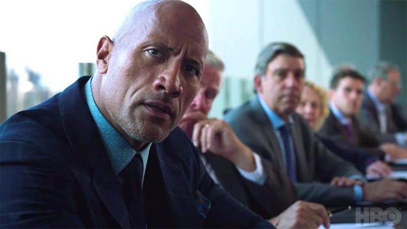 "Dwayne ""The Rock"" Johnson i femte säsongen av ""Ballers""."