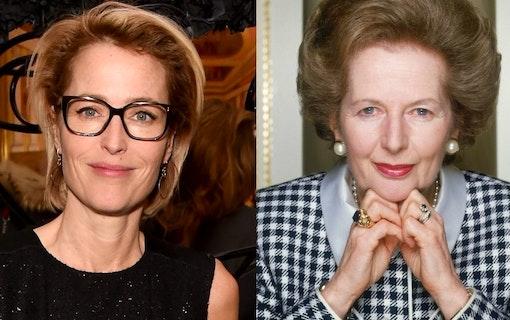 Gillian Anderson spelar Margaret Thatcher i The Crown säsong 4