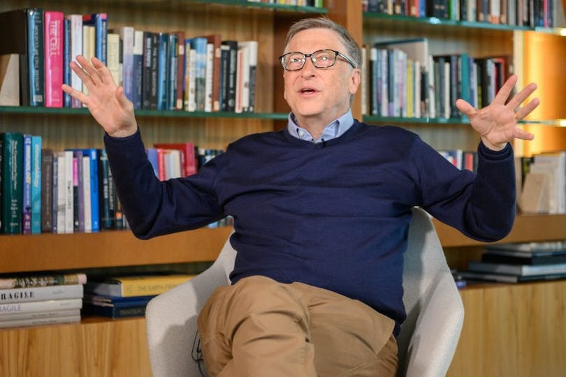 """Inside Bill's Brain: Decoding Bill Gates""."