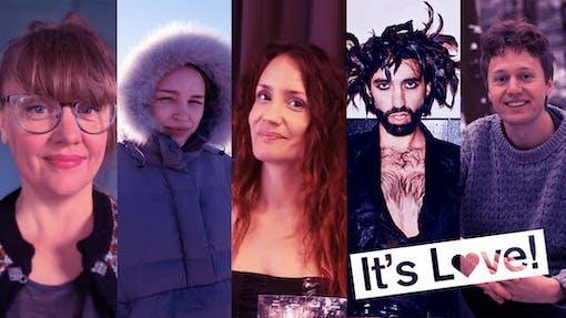 Bröst, nakenbad och kurragömmaklimax – här är de fem filmerna i It's Love