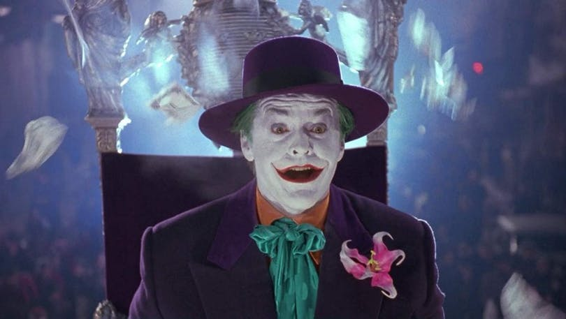 Jack Nicholson som Jokern.