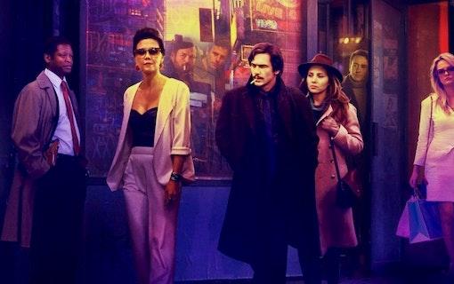 James Franco och Maggie Gyllenhaal i The Deuce på HBO Nordic.