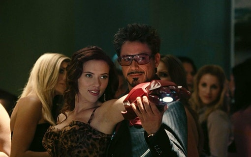 Robert Downey Jr. spelar Tony Stark i Black Widow