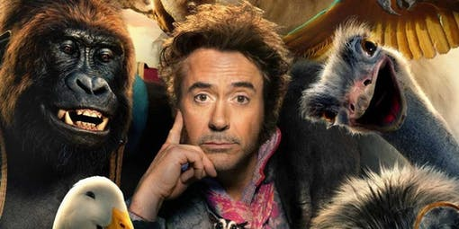 Se Robert Downey Jr intervjua djuren till kommande Dolittle