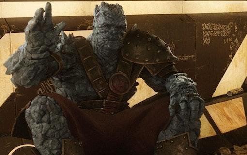 Populära karaktären Korg återvänder i Thor 4