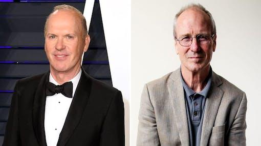 Michael Keaton och William Hurt i Aaron Sorkins nya film