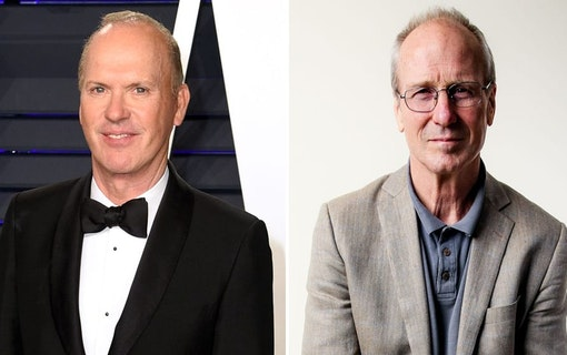 Michael Keaton och William Hurt i Aaron Sorkins nya film