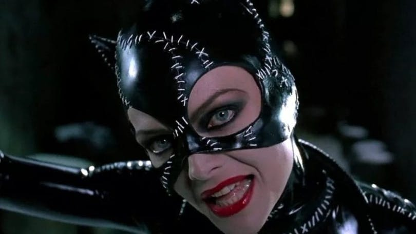 Michelle Pfeiffer som Catwoman.