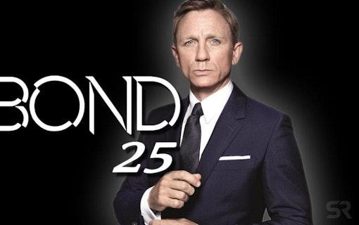 Första bilden till Bondfilmen No Time To Die har landat