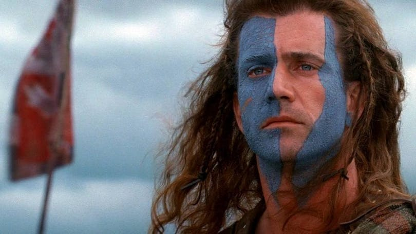 Mel Gibson i Braveheart