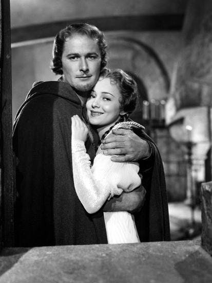 Errol Flynn och Olivia De Havilland