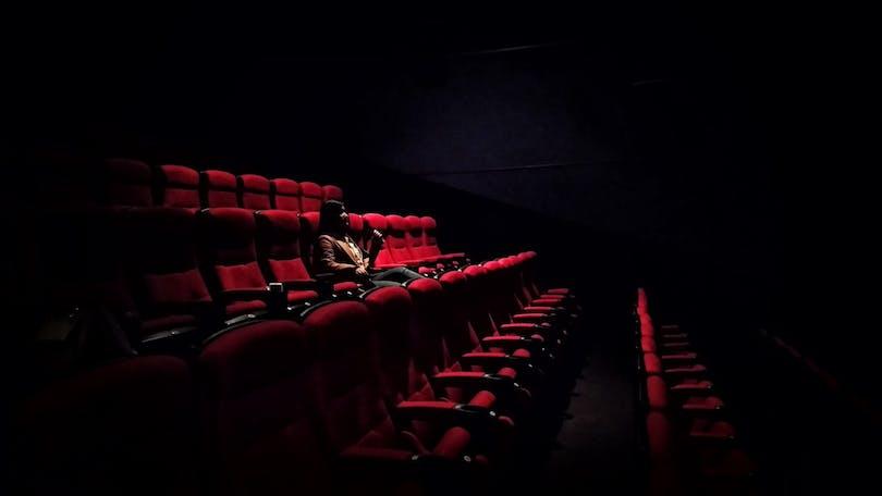 En biograf.