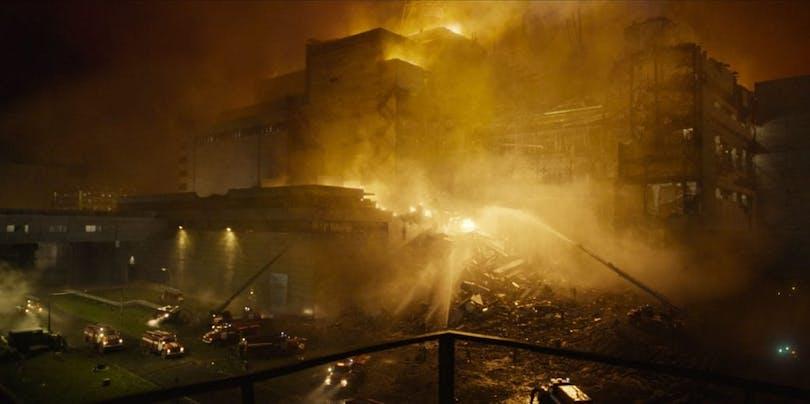 Stillbild ur Chermobyl.