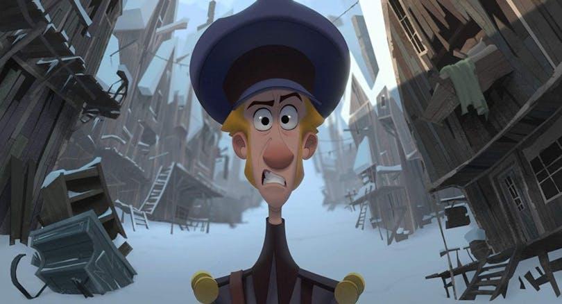 Bilden föreställer karaktären Jesper i Netflix animerade julfilm Klaus.