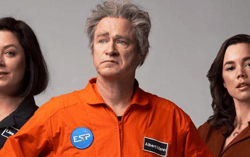 Robert Gustafsson åker ut i rymden i ny film