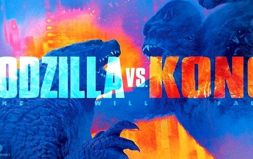 Filmen Godzilla vs Kong blir kraftigt försenad