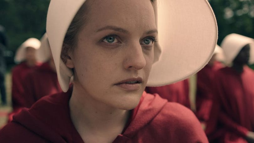 Stillbild ur The Handmaid's Tale.