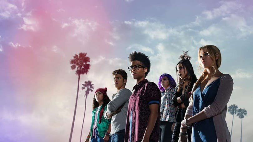 """Marvel's Runaways"" på HBO Nordic."