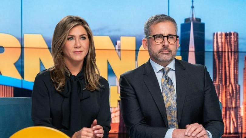 Jennifer Aniston och Steve Carell. En av de bästa serierna på Apple TV+.