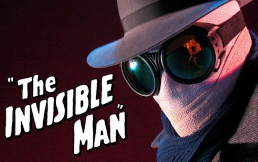 Första bilderna till Den osynlige mannen