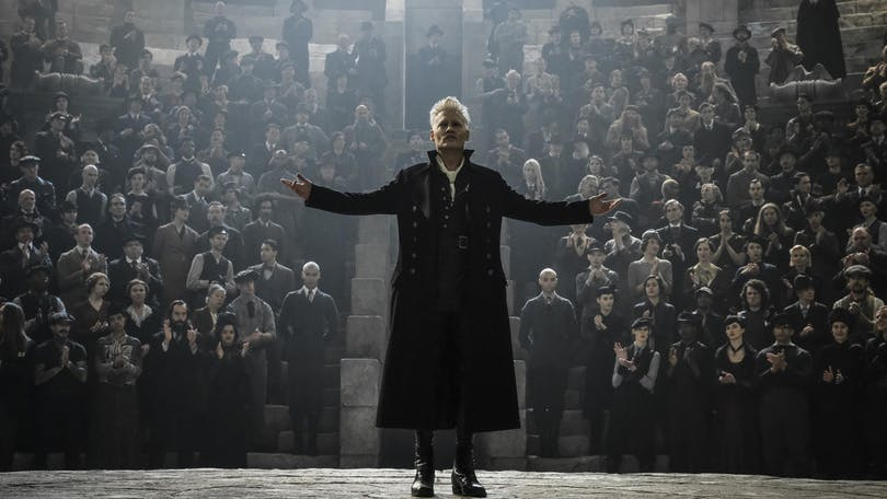Johnny Depp som Grindelwald