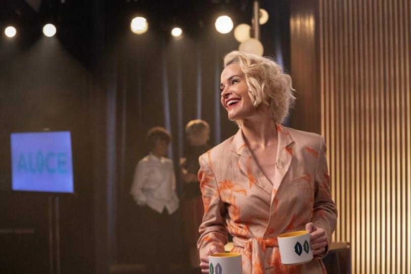 Bild på Leisha Hailey från HBO-serien The L Word: Generation Q.