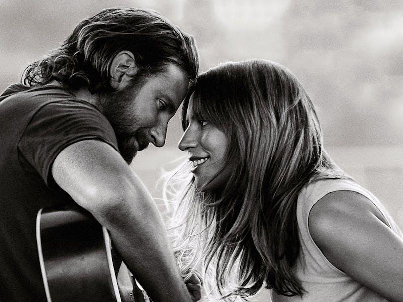 Lady Gaga och Bradley Cooper i A Star is Born.